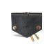 حافظة مفاتيح جلد أسود من KIKO