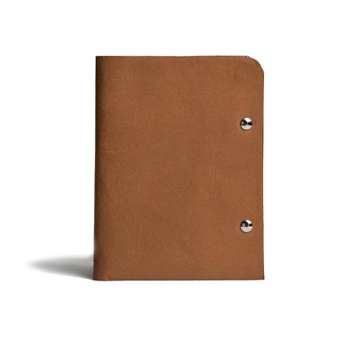 محفظة جلد براون رجالية من KIKO
