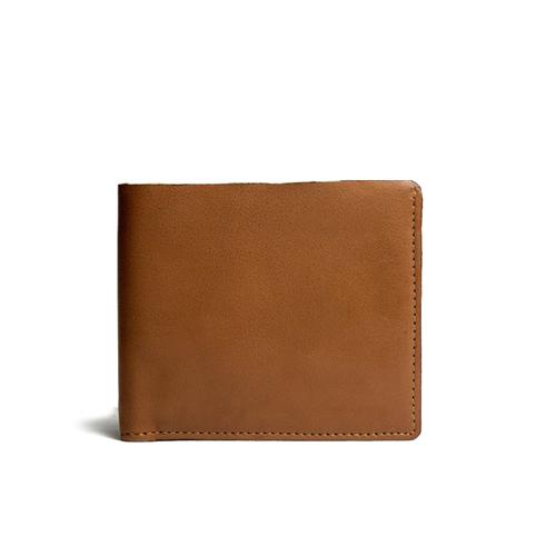محفظة بطاقات جلد براون رجالية من KIKO