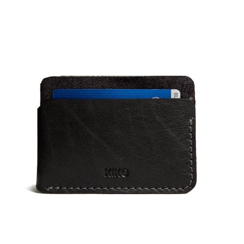 محفظة بطاقات جلد بلاك رجالية من KIKO