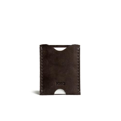 محفظة بطاقات جلد براون رجاليه من KIKO