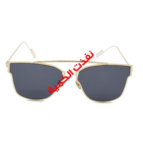 نظارة شمسية رجالي ديور (أسود)